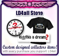 support LD4all and buy from this store. Lucid dreamers unite!